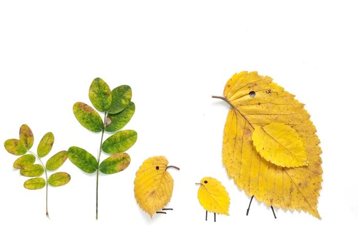 Поделки в детский сад на тему осень своими руками домик