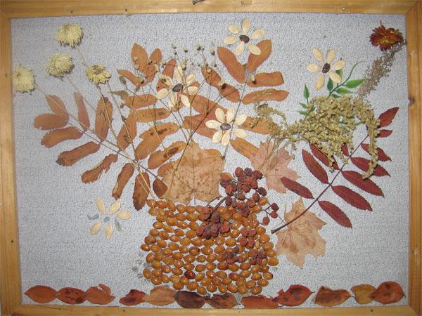 Поделки своими руками из природного материала для детского сада фото
